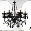 Crystal World Keen 6 Light Candle Chandelier