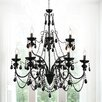 Crystal World Keen 9 Light Candle Chandelier
