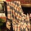 Tache Home Fashion Ritz Flannel Throw Blanket