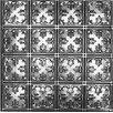 """Shanko 23.75"""" x 23.75"""" Metal Tile (Set of 5)"""