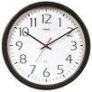 """Chaney AcuRite 14.5"""" Timex 5-Year Set and Forget Wall Clock"""