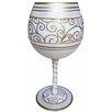Inky and  Bozko Anniversary Balloon Wine Glass