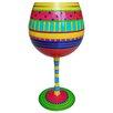Inky and  Bozko My Happy Place-Balloon Wine Glass