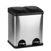 Hopeful Enterprise Double Container 15 Liter Recycle Bin