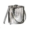 Elegance by Leeber Hammered Stainless Steel Doublewall Ice Bucket