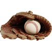Wallhogs Glove/Ball Cutout Wall Decal