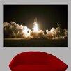 Wallhogs Space Shuttle Launch Poster Wall Mural