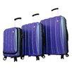 Mia Toro ITALY Tasca Fusion 3 Piece Hardsided Spinner Suitcase Set