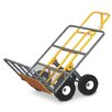 "Snap-Loc 51"" x 24"" x 30"" Heavy Duty Hand Cart with 4 All-Terrrain Airless Wheel"