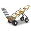"Snap-Loc 62"" x 28"" x 30"" Heavy Duty Hand Cart with 6 All-Terrrain Airless Wheel"