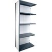 """Equipto V-Grip 84"""" Shelving Unit - Closed Add On - with 5 Shelves"""