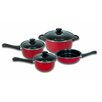 Imperial Home Carbon Steel Non-Stick 7 Piece Cookware Set