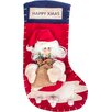 Imperial Home High End Large 3D Classic Christmas Stocking
