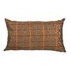 Meridian Furniture USA Delano Décor Windowpane Cotton Lumbar Pillow