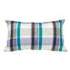 Meridian Furniture USA Delano Décor Patchwork Plaid Cotton Lumbar Pillow