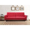 Domus Vita Design Trieste Red Contertible Sofa