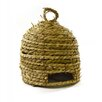 Shea's Wildflowers Rope Bee Skep with Hanger Wall Decor