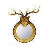 Shea's Wildflowers Deer Head Mirror