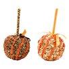 Shea's Wildflowers Decorative Halloween Candy Apple (Set of 2)