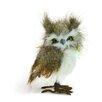 Shea's Wildflowers Brown Snow Owl Figurine