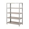 "Little Giant USA 72"" Heavy-Duty Welded Steel Shelving Unit"