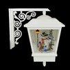 Northlight Seasonal Wall Mounted Snowman Christmas Musical Street Lamp