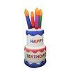 Northlight Seasonal Happy Birthday Cake Decoration