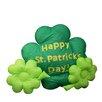 Northlight Seasonal Inflatable Shamrock St. Patrick's Day Decoration