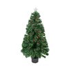 Northlight Seasonal 3' Color Changing Fiber Optic Christmas Tree with Red Berries