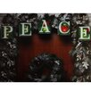 "Northlight Seasonal Shimmering ""Peace"" Christmas Light Garland with 10 Mini Light"