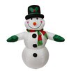 Northlight Seasonal Inflatable Lighted Snowman Christmas Decoration