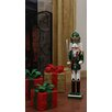 Northlight Seasonal Decorative King Wooden Christmas Nutcracker with Sword