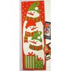 Northlight Seasonal Snowman Christmas Card Wall Holder (Pack of 108)