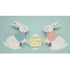 Northlight Seasonal Easter Bunny & Egg Wooden Decorative Accent