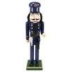 Northlight Seasonal Decorative Wooden Christmas Nutcracker Police Officer