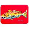 Caroline's Treasures Fish Alphonzo Kitchen/Bath Mat
