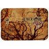 Caroline's Treasures A Spook Tacular Day Halloween Kitchen/Bath Mat
