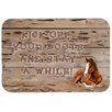 Caroline's Treasures Kick Off Your Boots and Stay a While Kitchen/Bath Mat