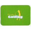 Caroline's Treasures I'd Rather Be Golfing Woman Kitchen/Bath Mat