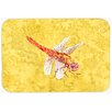 Caroline's Treasures Dragonfly Kitchen/Bath Mat