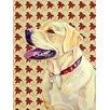 Caroline's Treasures Labrador Fall Leaves Portrait 2-Sided Garden Flag