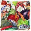 Caroline's Treasures Louisiana Spices Indoor/Outdoor Throw Pillow
