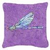 Caroline's Treasures Dragonfly Indoor/Outdoor Throw Pillow