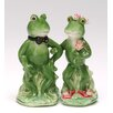 Cosmos Gifts Alfrogo and Frogalina Salt and Pepper Set