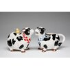 Cosmos Gifts Cow Sugar and Creamer Set