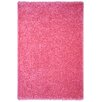 Rugnur Bella Maxy Home Single Solid Pink Shag Area Rug