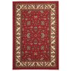 Rugnur Hammam Maxy Home Traditional Floral Red Area Rug