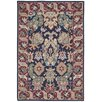 Darby Home Co 16th Century Navy Area Rug