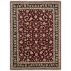 Darby Home Co Royalty Handmade Burgundy Area Rug