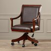 Darby Home Co Brewys Leather Arm Chair